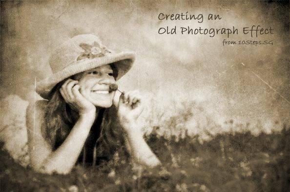 Un look antique pour vos photos