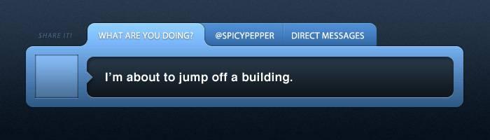 Créer une Twitter box