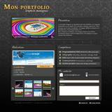 miniature Design d'un portfolio
