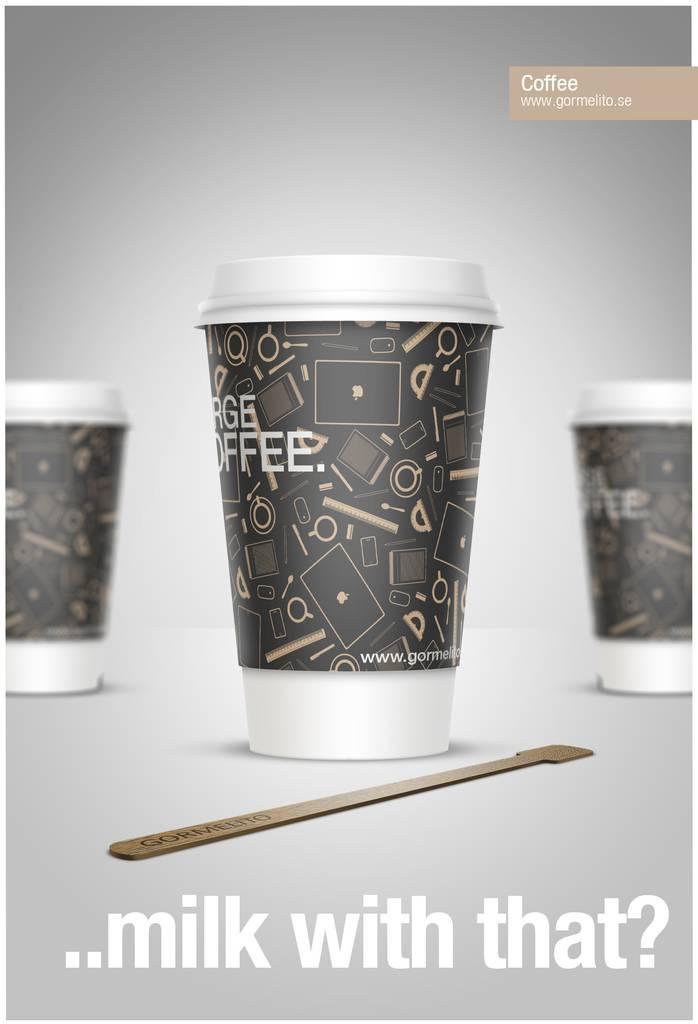 Créer un gobelet de café