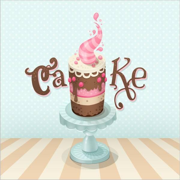 Dessiner un gâteau