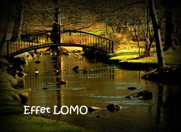 Effet Lomo