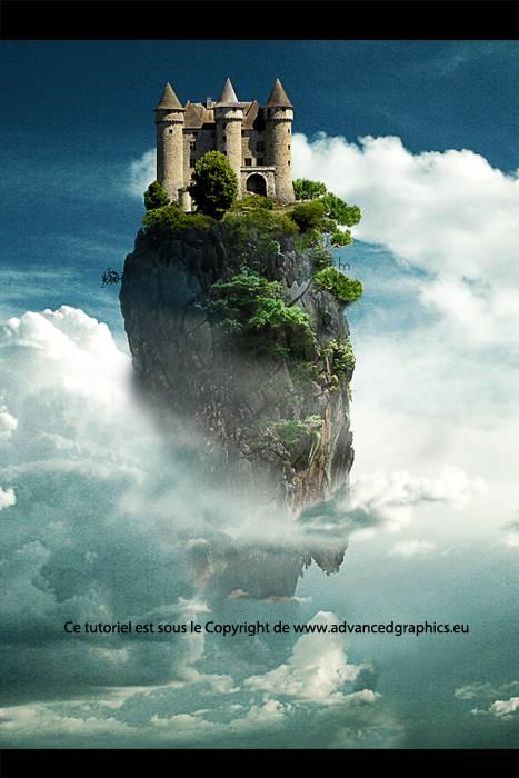 "Photomontage ""The Island"""