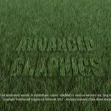 miniature Texte écrit dans l'herbe