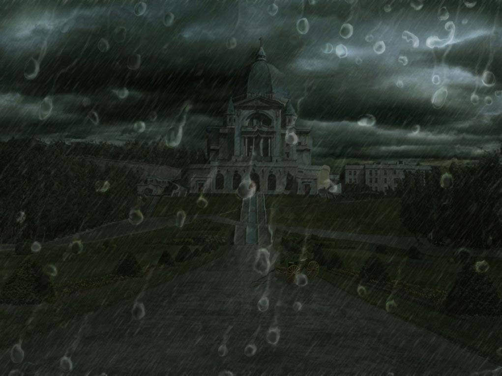 Matte painting : château
