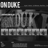 miniature Webdesign Iron Duke