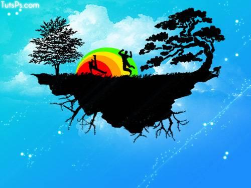 Illustration colorée