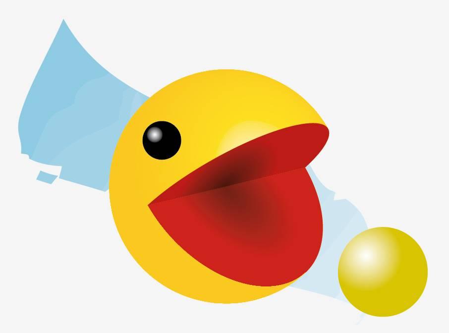 Dessiner Pacman en 3D avec Illustrator