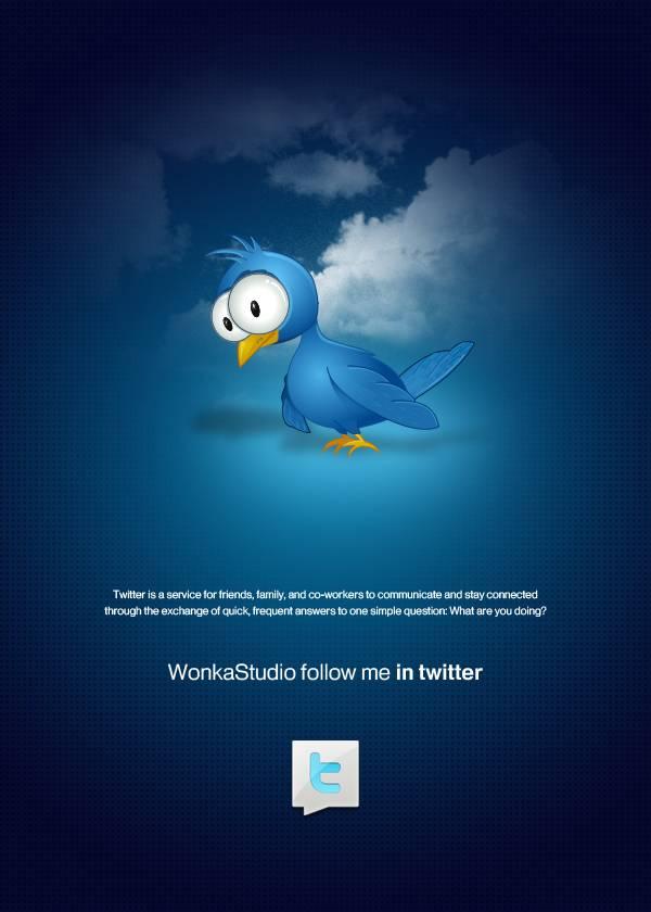 Affiche Twitter