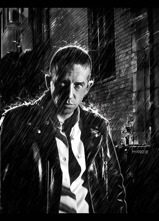 Sin City In Photoshop - Metacafe