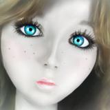miniature Visage de poupée