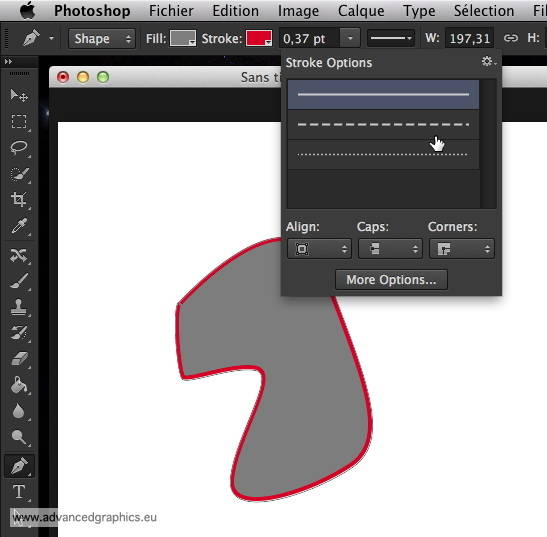 Les outils vectoriels de Photoshop CS6
