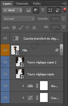 La nouvelle palette des calques de Photoshop CS6