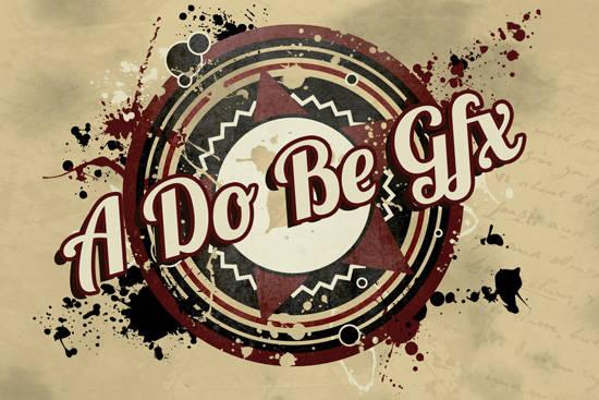 Logo grunge avec Illustrator et Photoshop