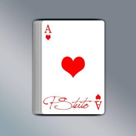 Dessiner carte de poker