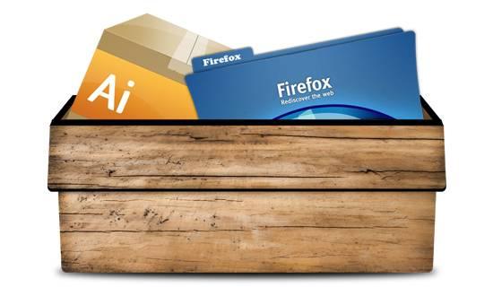Boîte en bois