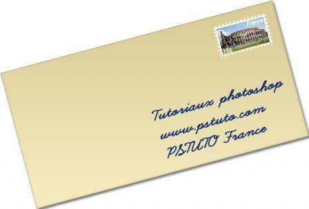 Créer un timbre avec Photoshop