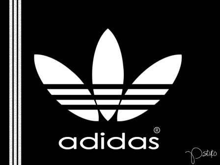"Reproduire le logo Adidas ""fleur"""