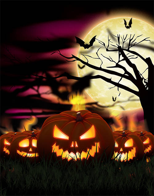 Créer une citrouille pour Halloween avec Photoshop