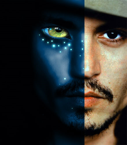 Transformer un visage en avatar (Na'vi)