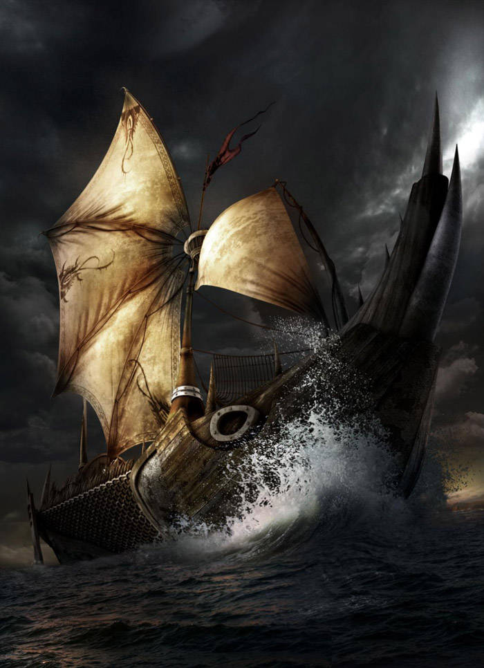 Dessiner un bateau avec Photoshop