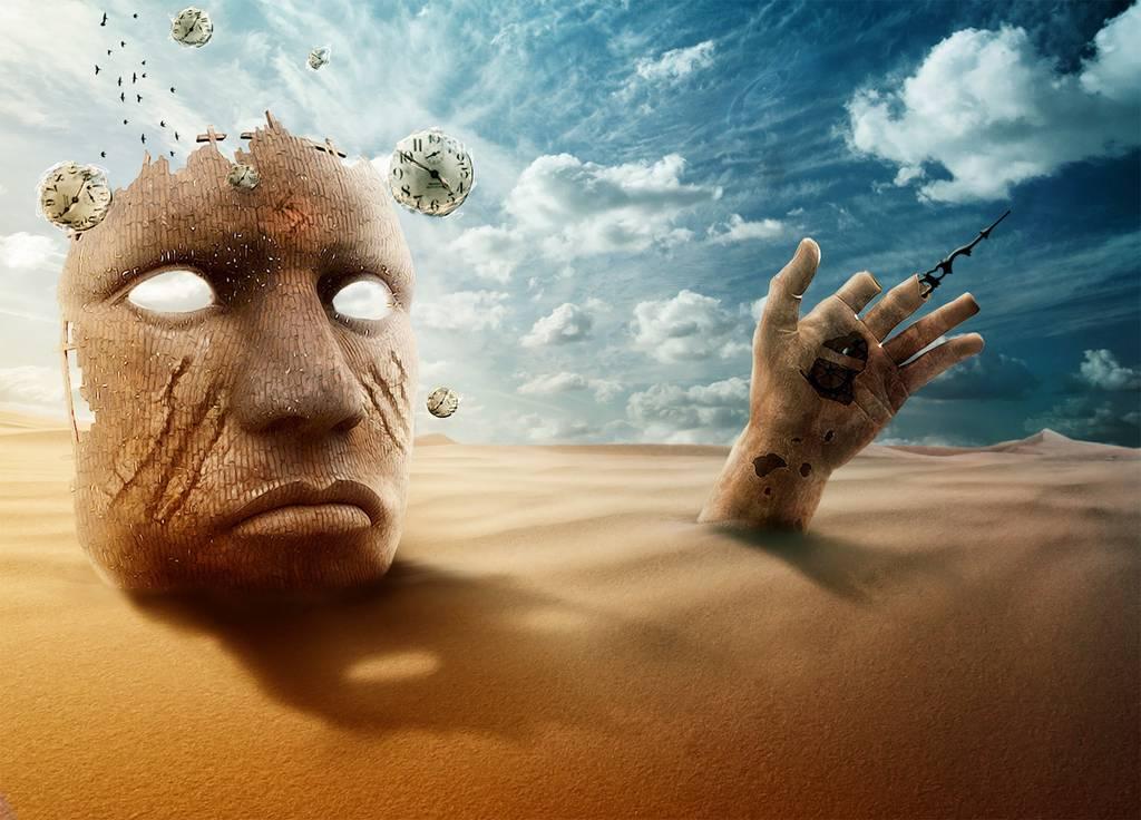 Scène surréaliste à la Tim Burton