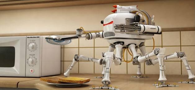 Créer un robot grille-pain