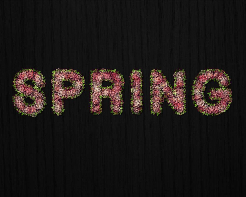Créer un texte en fleur