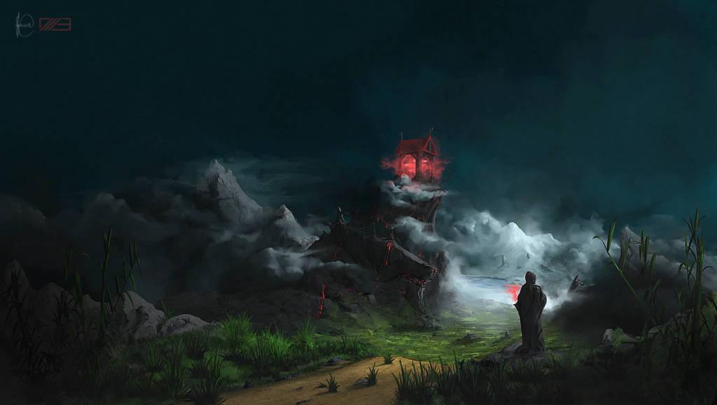 """Créer un paysage fantastique style """"Le Petit Poucet"""""""