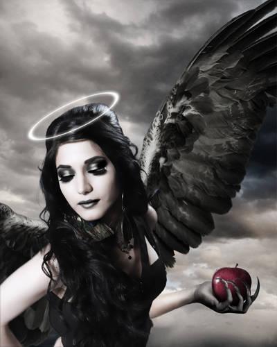 Créer des ailes d'ange noir