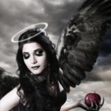 miniature Créer des ailes d'ange noir