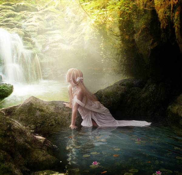 Fontaine enchantée