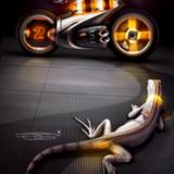 miniature Dessiner une moto futuriste