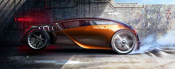 Design d'une voitrure du futur