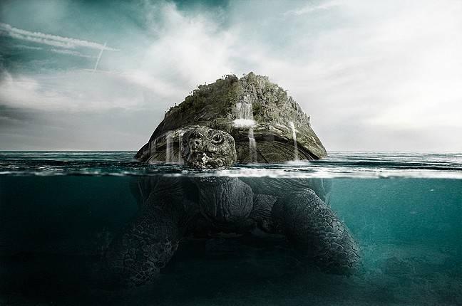 Créer une tortue géante