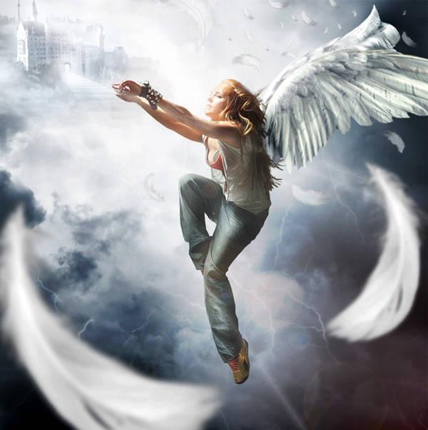 La chute de l'ange