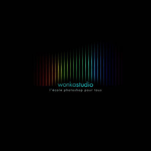 Créer un effet de bandes verticales multicolores