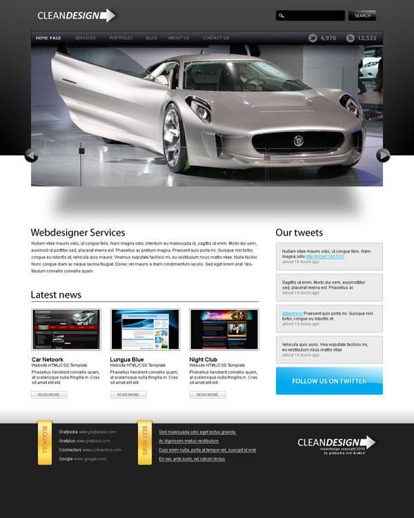"Webdesign ""Clean Design"""