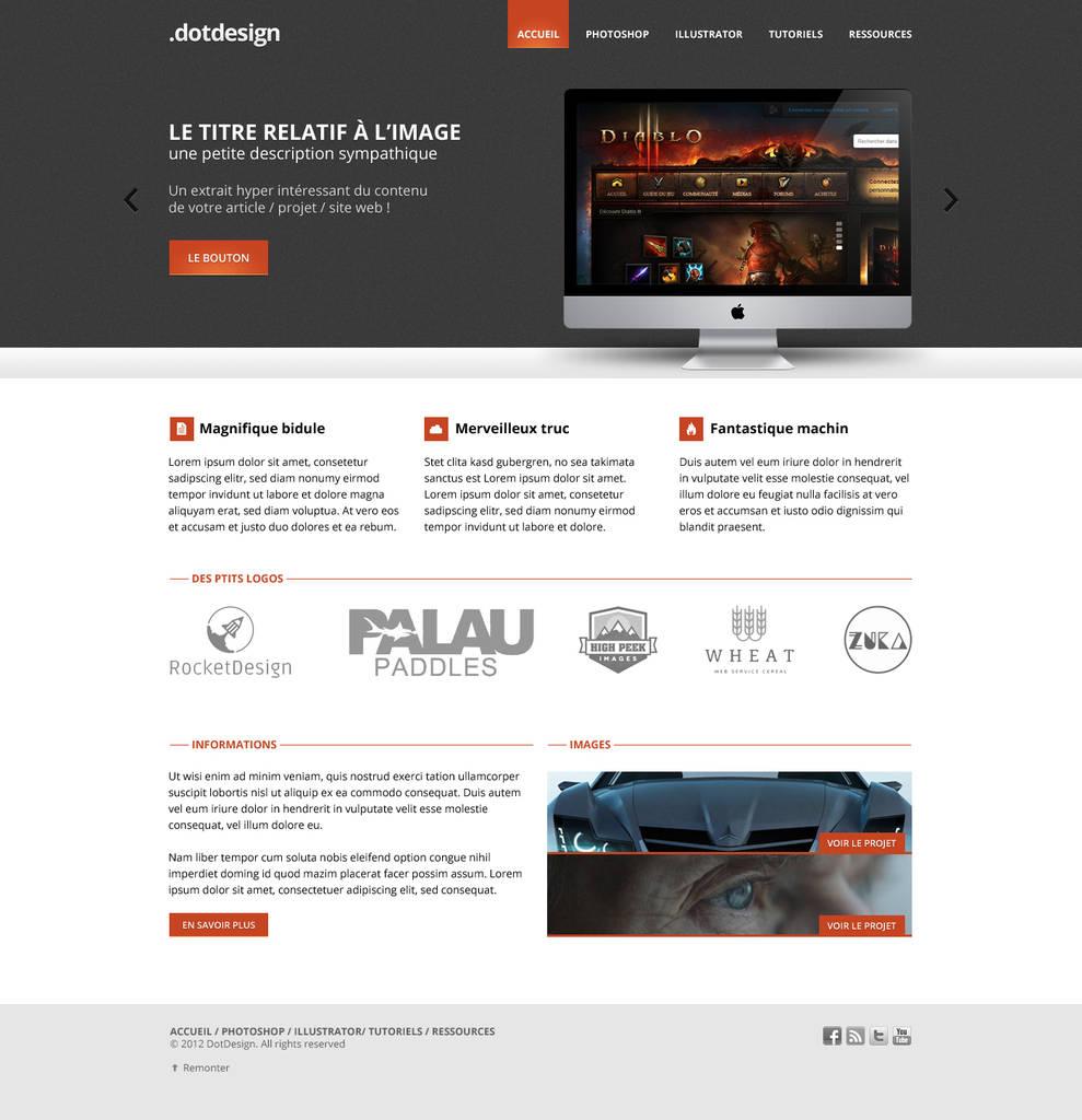 Créer un webdesign de qualité avec Photoshop