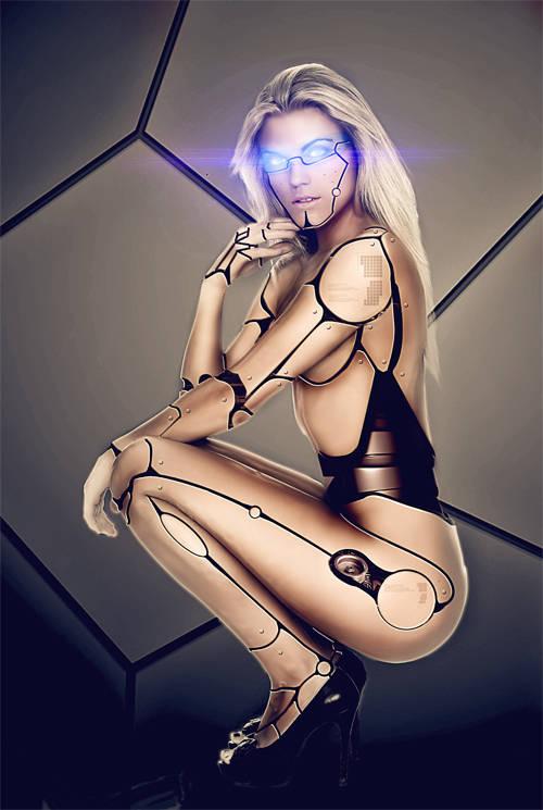 Transformer une femme en robot