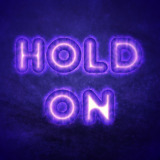 miniature Texte lueur violette