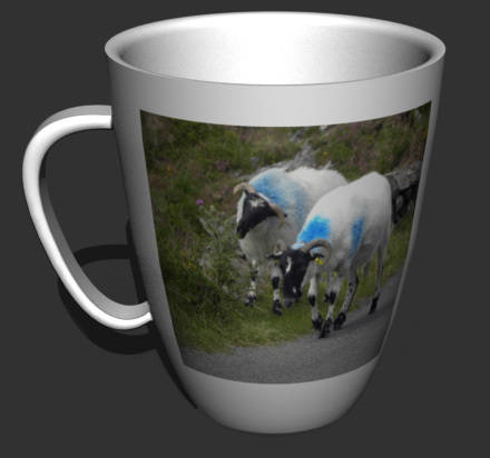 Tasse en 3D
