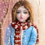 miniature Peindre un personnage avec le mélange de couleurs