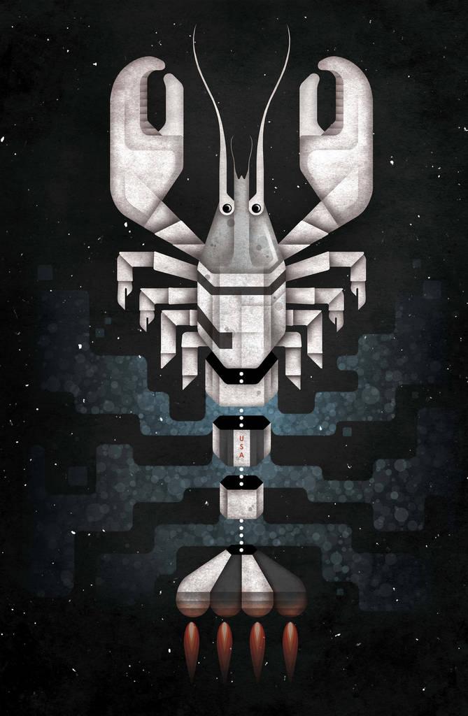 Homard fusée