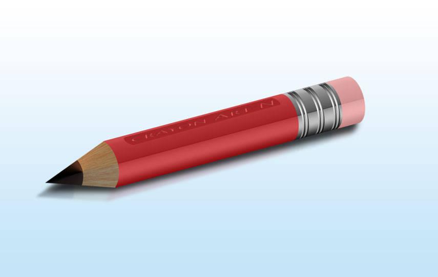 Crayon en 3D