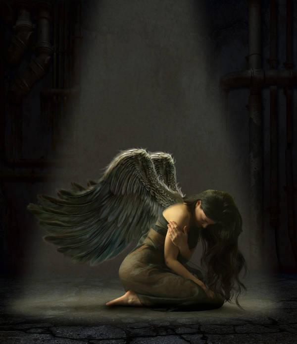 Ange tombé du ciel
