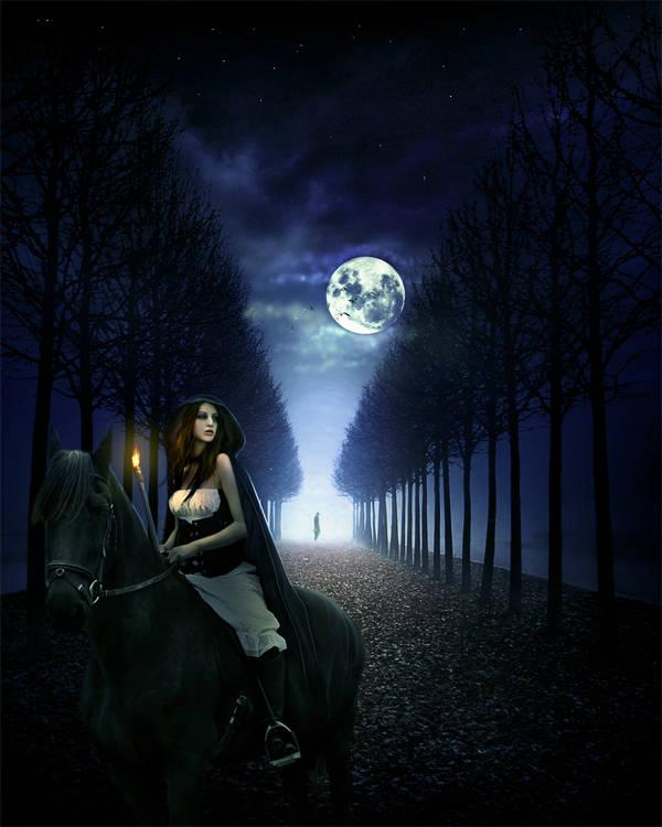 Cavalière de la nuit
