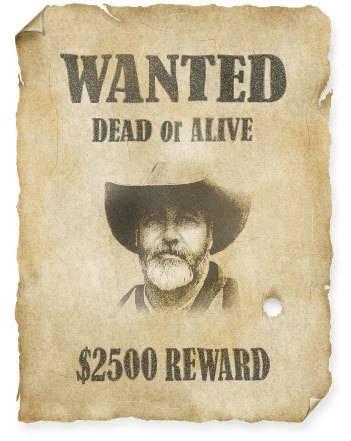 Affiche de western