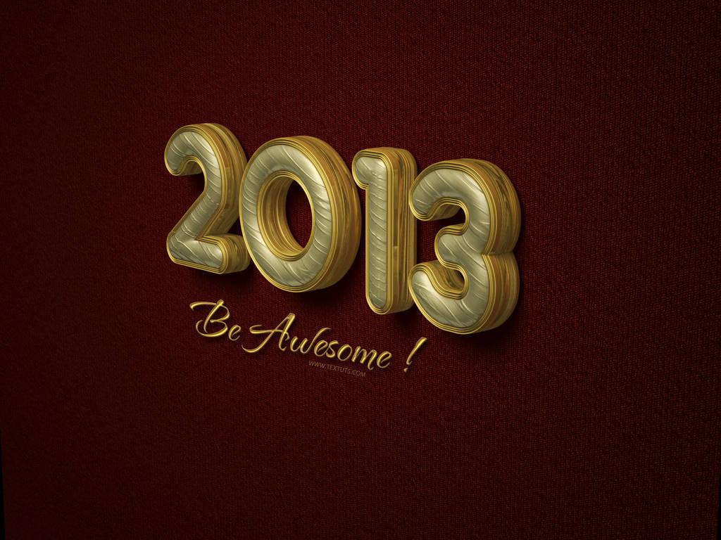 Texte 3D 2013