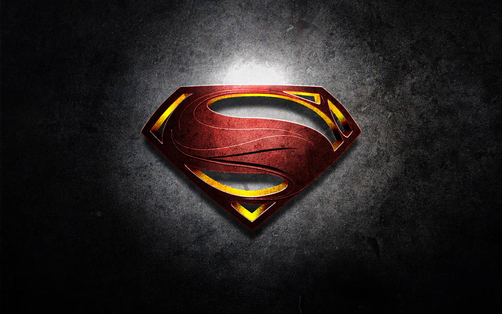 "Logo Superman ""Man of Steel"""